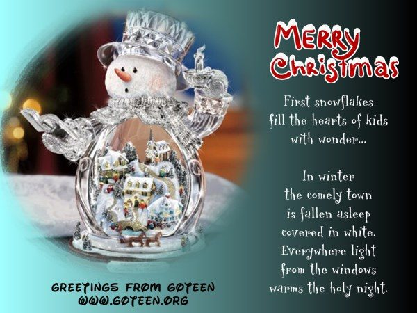 Comely Snowman