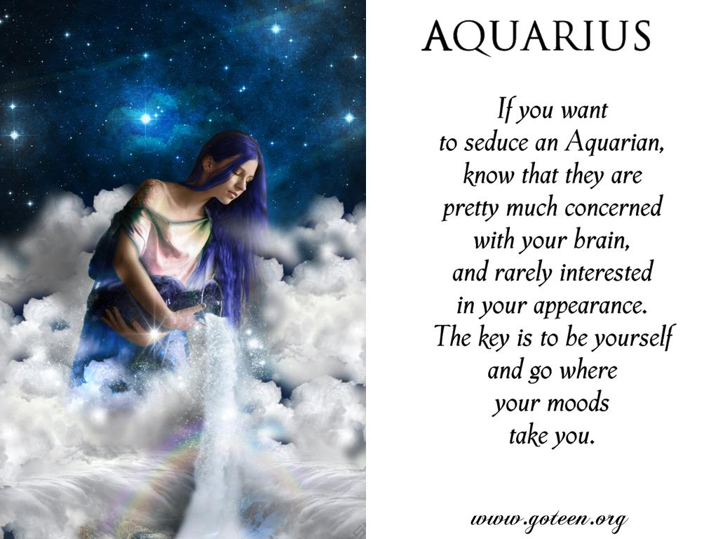 Want An Aquarius?