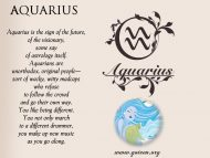 Aquarius And Future