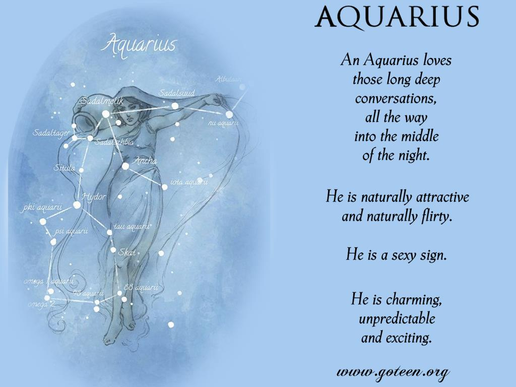 Aquarius Loves