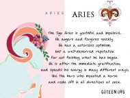 Aries I Want It All And I Want It Now