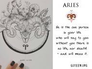 Aries – You Are The One