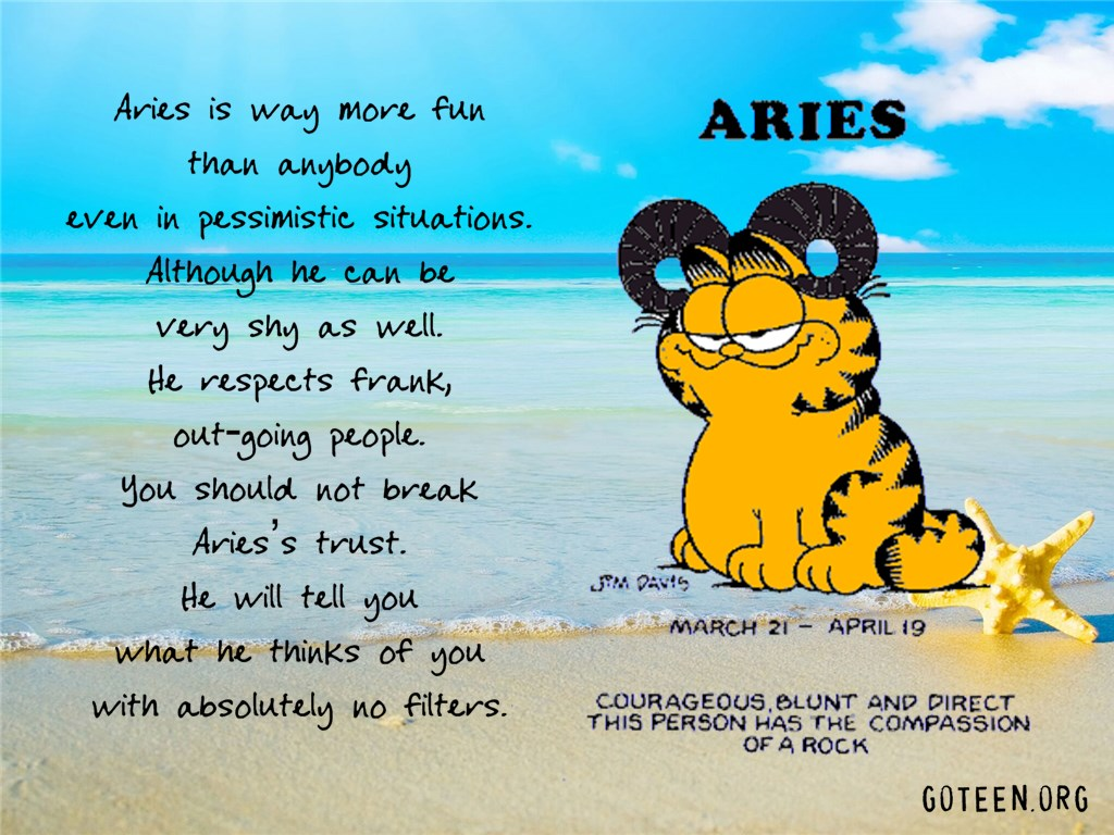 Aries Is Fun
