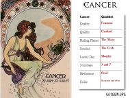Cancer Qualities