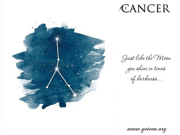 Cancers and The Moon