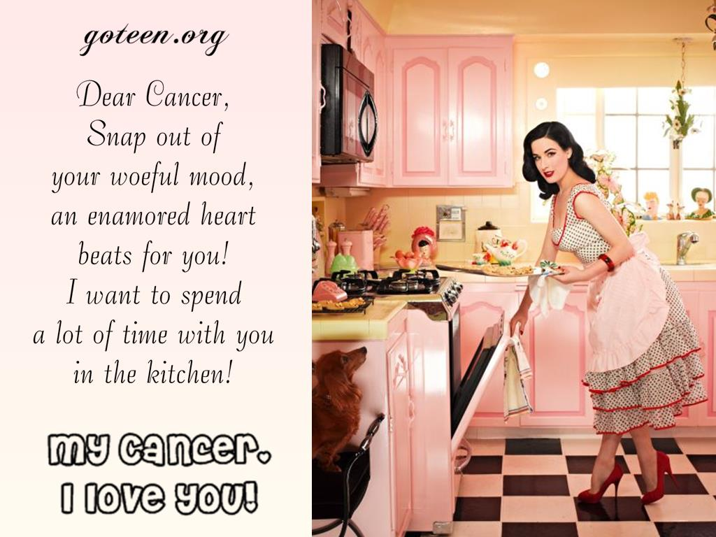 I  Love You, Cancer