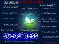 Capricorn Traits