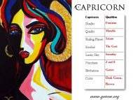 Capricorn Qualities
