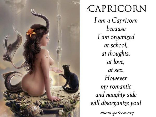 Capricorn Because