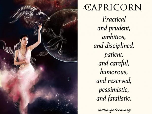 Being A Capricorn