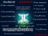 Gemini Character Traits