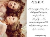Gemini Communicating