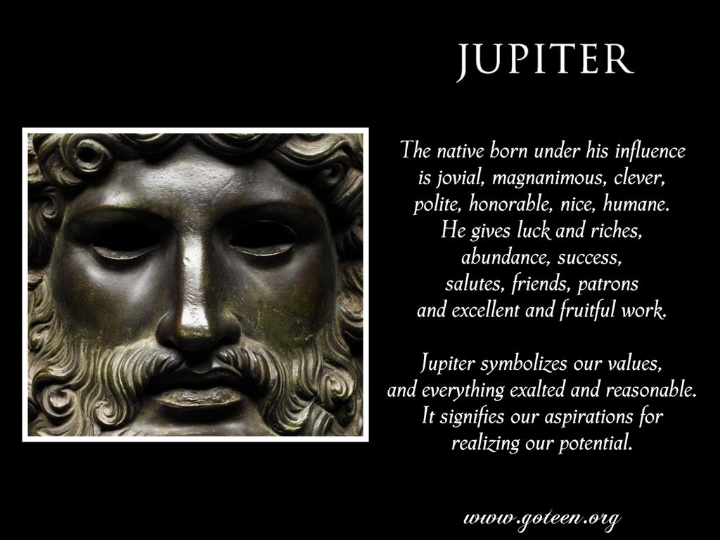 Jupiter's Influence