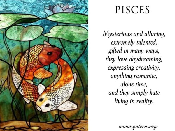 Pisces Character