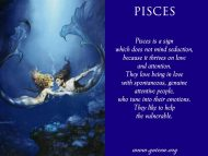Pisces And Seduction