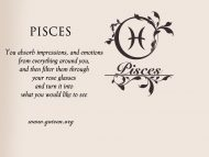Pisces and Rose Glasses