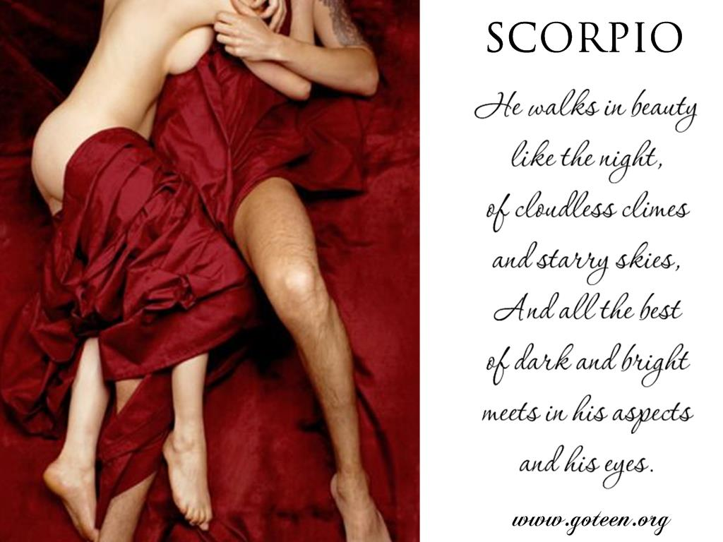 Scorpio Walks In Beauty – Byron