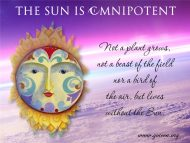 Sun Is Omnipotent