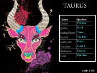 Taurus Qualities