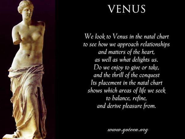 Venus And Relationships