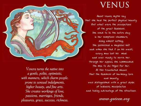 Venus And Myths