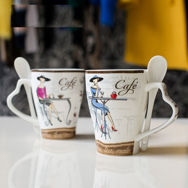 Promotional-Creative-Ceramic-Cup-Fashion-Bone-China-Mug-Coffee-Cup-Milk-Package-Delivery-Cup-Lid-Spoon