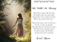 Lord Byron – She Walks In Beauty