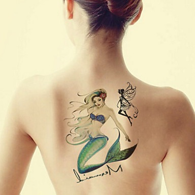 Little Mermaid's Tattoo