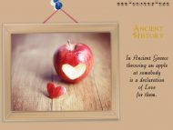 Apples and Love