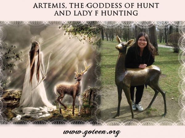 Artemis and Lady F