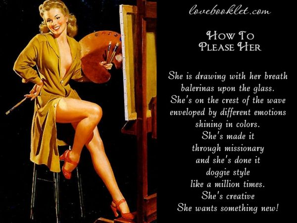 How To Please The Artistic Girl