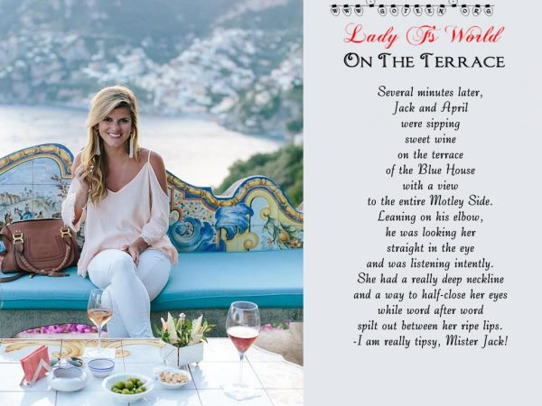 Lady F's World: The Terrace