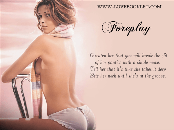 Foreplay: The Slit