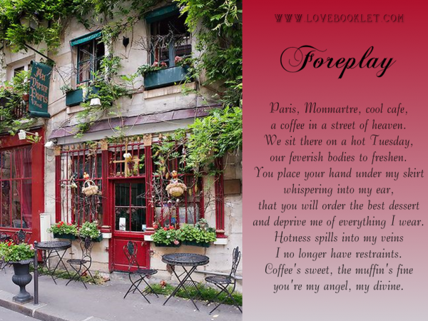 Foreplay: Monmartre