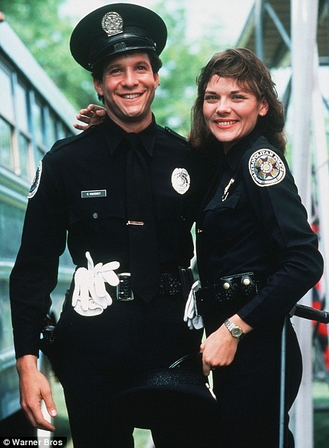 A Crush on Carey Mahoney from Police Academy