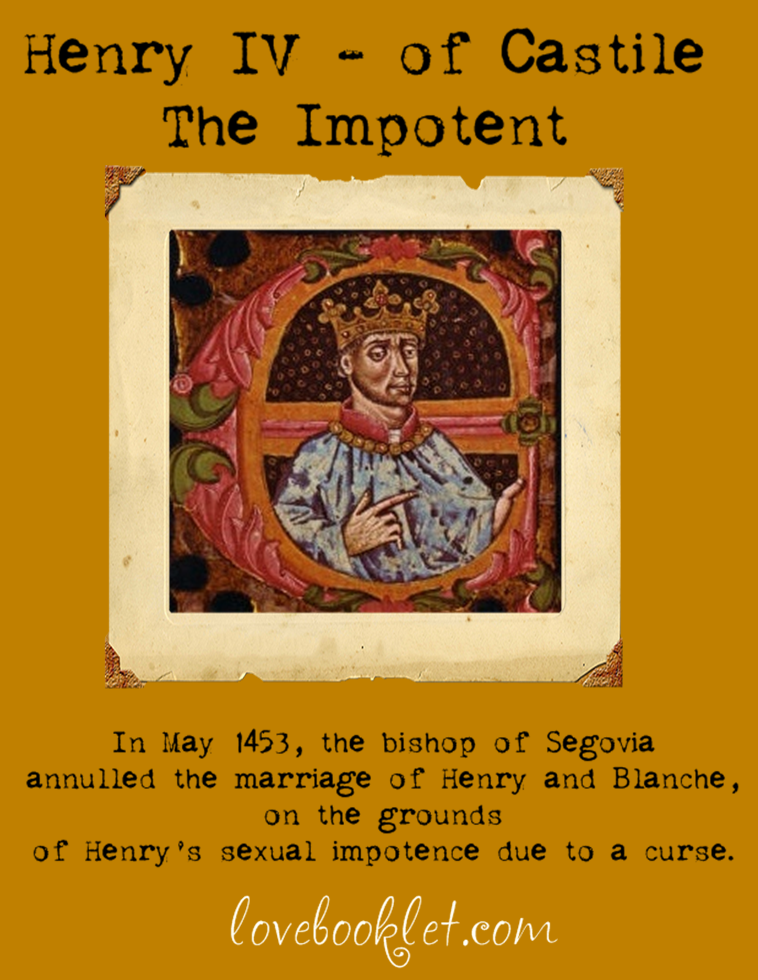 Henry The Impotent